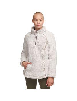 Long Pile 1/4 Zip Fleece Pullover   Women's by Stoic