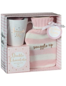 Hot Water Bottle & Hot Chocolate Gift Set   Snuggle Up by B&M