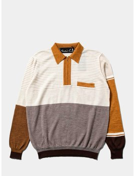 Fine Knit Polo by Martine Rose