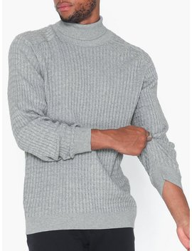 Slhcarlos Cable Roll Neck W by Selected Homme