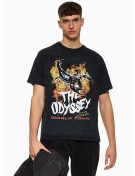 Black Odyssey T Shirt by Topman