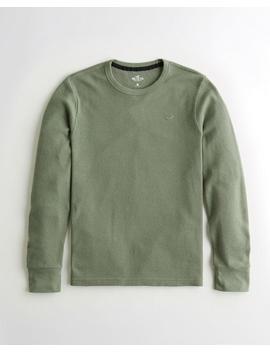 T Shirt Thermique Douillet by Hollister