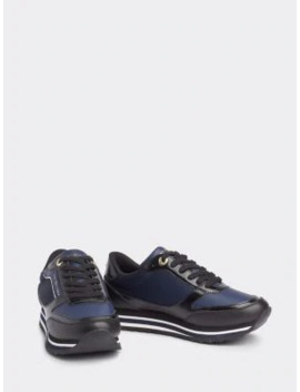 Retro Branded Trainers by Tommy Hilfiger