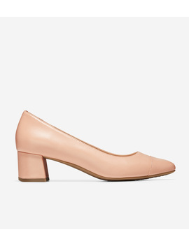 The Go To Block Heel Pump (45mm) by Cole Haan