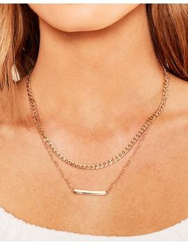 Layered Id Necklace by Glassons