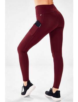 High Waisted Pocket Cold Weather Legging by Fabletics