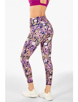 High Waisted Printed Power Hold® 7/8 by Fabletics