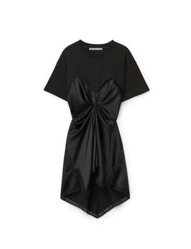 Cinched T Shirt Slip Dress by Alexander Wang