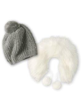 Warm & Cozy Winter Hat & Shawl For 18 Inch Dolls by American Girl