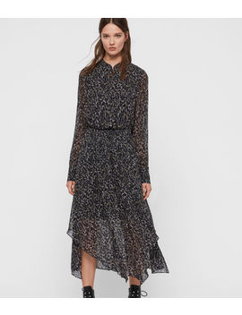 Valeria Waterleo Dress by Allsaints