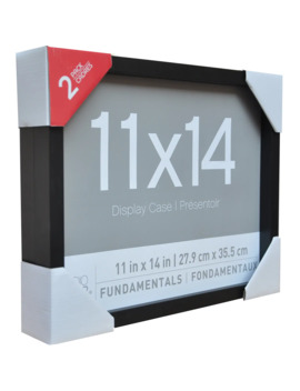 """2 Pack Black 11"""" X 14"""" Shadow Boxes, Fundamentals By Studio Décor® by Studio Decor"""