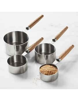Williams Sonoma Olivewood Measuring Cups by Williams   Sonoma