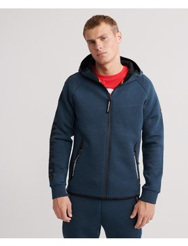 Core Gym Tech Zip Hoodie by Superdry
