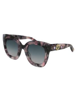 Gucci Grey Gradient Cat Eye Ladies Sunglasses Gg0208 S 004 49 by Gucci