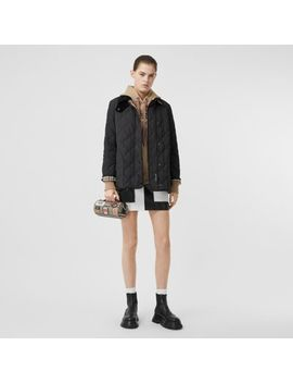 Diamond Quilted Thermoregulated Barn Jacket by Burberry