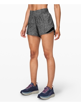 """Hotty Hot Short High Rise Long Online Only 4"""" by Lululemon"""