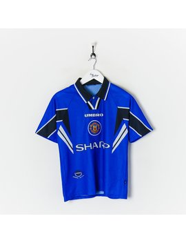 Umbro Manchester United Fc Football Shirt Blue Small by Umbro