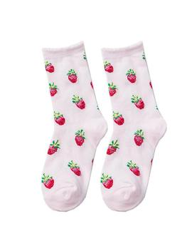 Strawberry Fields Socks by Boogzel Apparel