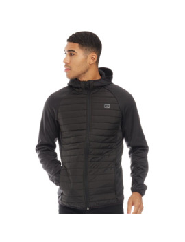 Jack And Jones Mens Multi Quilted Jacket Black by Jack And Jones
