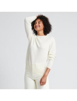The Women's Essential $75 Sweater White by Naadam