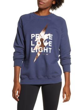 peace-love-light-sweatshirt by spiritual-gangster