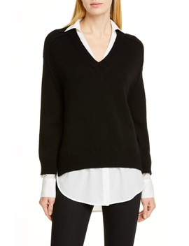 wool-&-cashmere-layered-pullover by brochu-walker