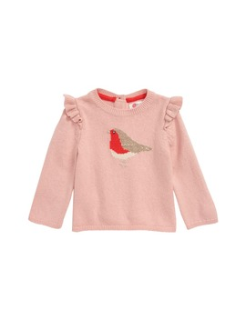 robin-frill-sweater by mini-boden
