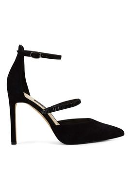 Thalita Dress Pump   Black Suede by Nine West