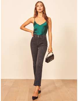 Charlie Straight Seamed Jean by Reformation