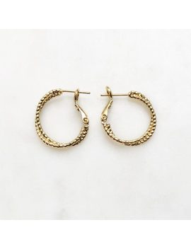 Double Twisted Earring Set by By Nouck