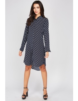 Polka Dot Shirt Dress by Everything5 Pounds