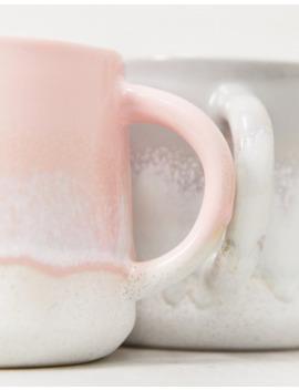 sass-&-belle-rustic-pink-glaze-mug by sass-&-belle