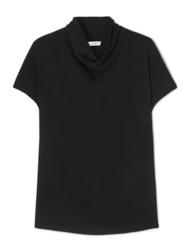 toma-draped-crepe-top by the-row