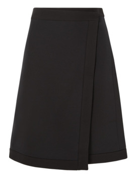 narata-wool-and-silk-blend-wrap-skirt by the-row
