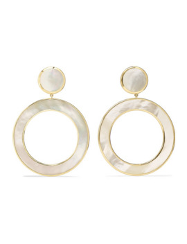 polished-rock-candy-18-karat-gold-mother-of-pearl-earrings by ippolita