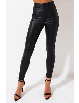 on-duty-vegan-leather-high-rise-skinny-pants by akira