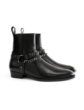 the-leather-henrik-harness-boots by oro