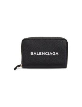 leather-zip-coin-pouch by balenciaga