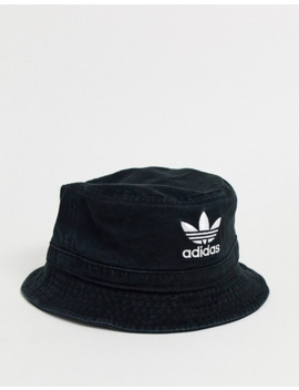 adidas-originals-trefoil-logo-bucket-hat by adidas-originals