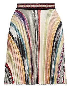 pleated-mini-a-line-skirt by missoni