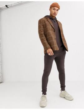 asos-design-oversized-hoodie-in-dark-brown by asos-design