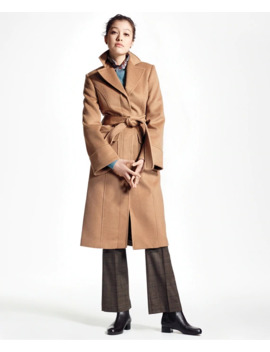 Loro Piana® Single Breasted Camel Hair Coat by Brooks Brothers