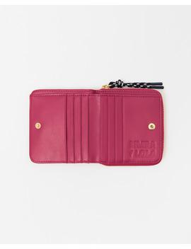 Fuchsia Flap Wallet by Bimba Y Lola