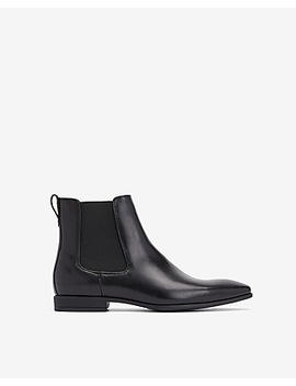 genuine-leather-chelsea-boot by express