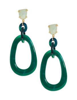 Resin Earrings by Banana Repbulic