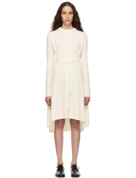 off-white-cashmere-knit-dress by helmut-lang
