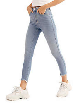Raw High Rise Jeggings by Free People