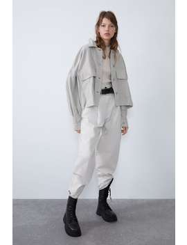 corduroy-jacket-with-voluminous-sleeves by zara