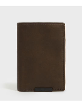 State Leather Wallet by Allsaints