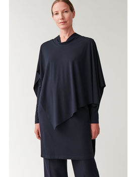 Layered Tunic With Neck Tie by Cos